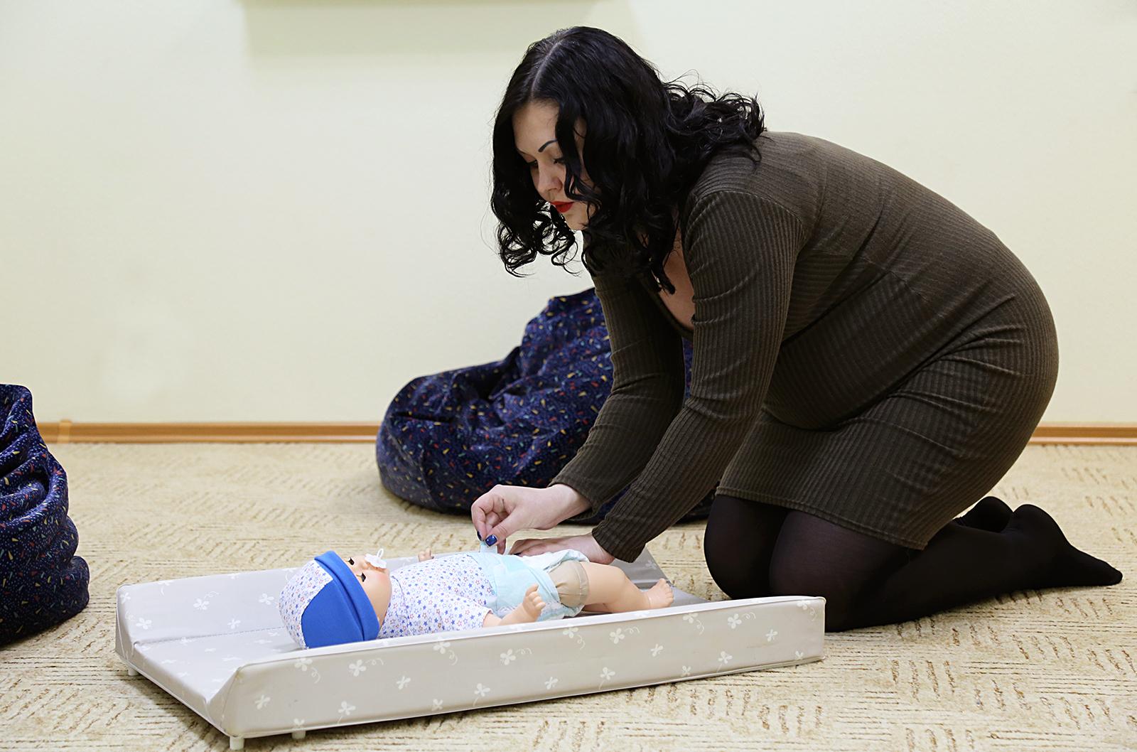 13 ноября. Экспресс-курс подготовки к родам на Пулковской.