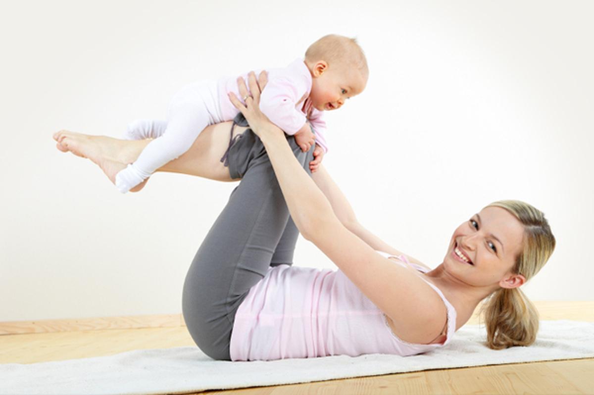 Йога после родов.