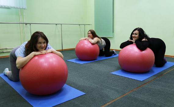 17 сентября. Вечерняя группа гимнастики для беременных.